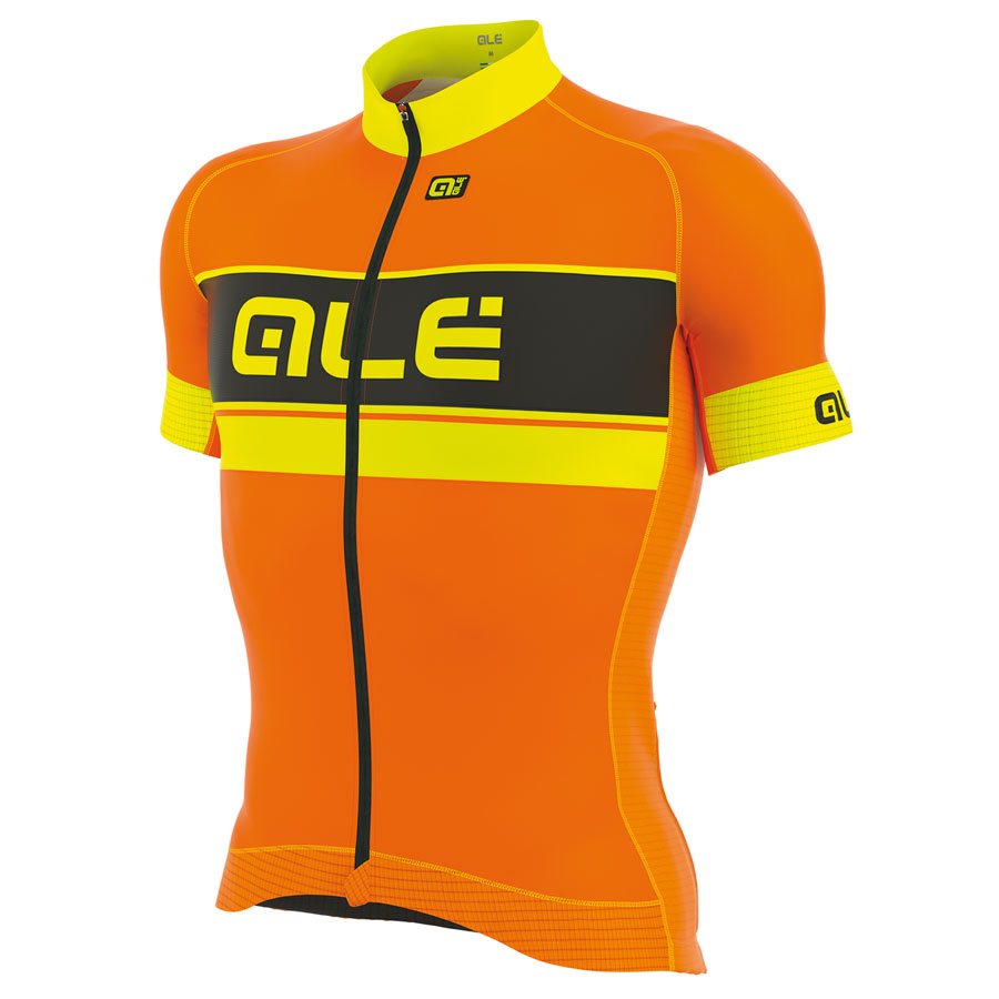 Trikot Ale Graphics PRR Bermuda - Orange Fluo