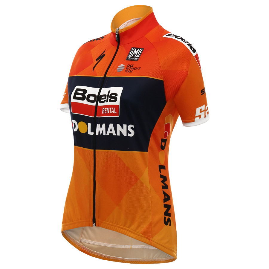 2017 Boels Dolmans Frau Trikot - Orange