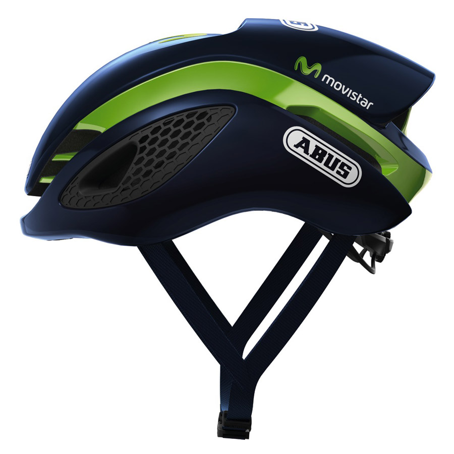 2017 Abus Gamechanger RadHelm - Movistar