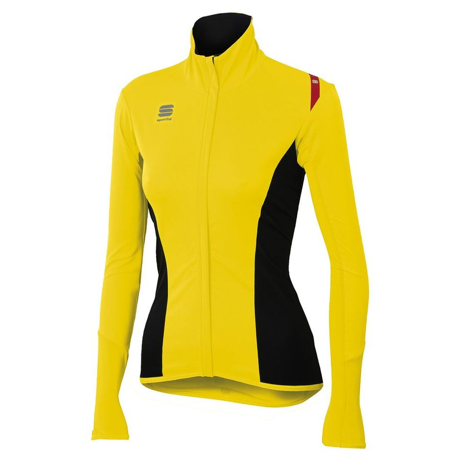 Fiandre Light Norain Top Sportful Frau - Gelb Fluo