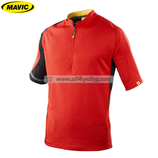 Trikot Mavic Notch - Rot