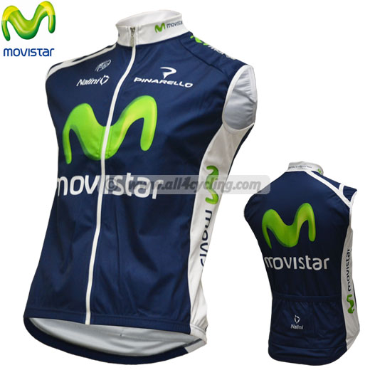 2012 Windstopper gilet Movistar