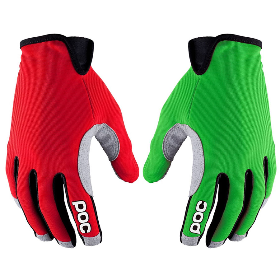 Handschuhe Lang Poc Index Air - Rot Grun