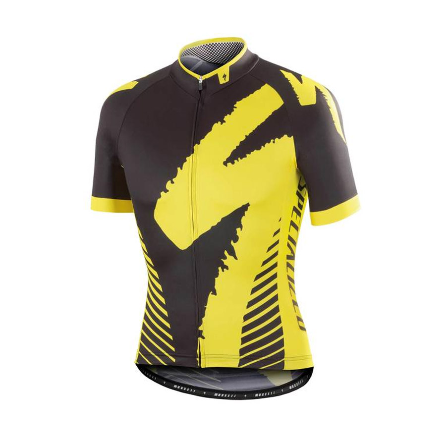Trikot Specialized Comp Racing - Gelb - Kinder