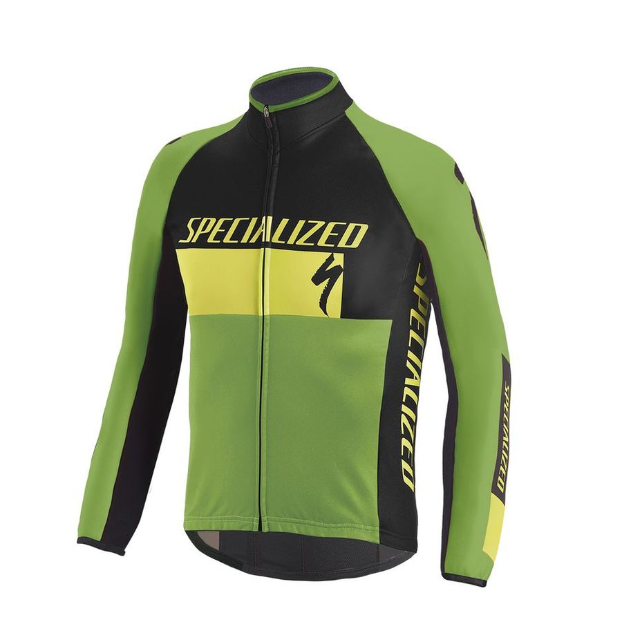 Jacke Kinder Specialized Element RBX Comp Logo - Gelb