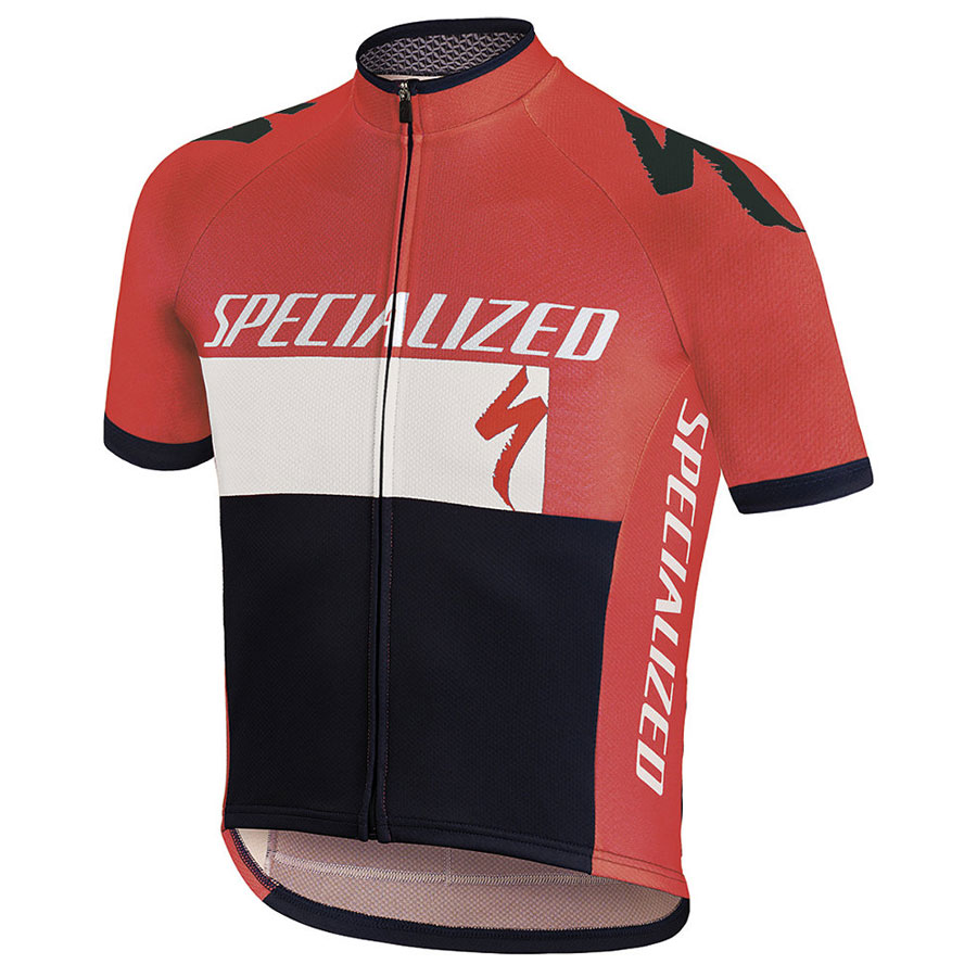 Kinder Trikot Specialized RBX Comp Logo - Rot