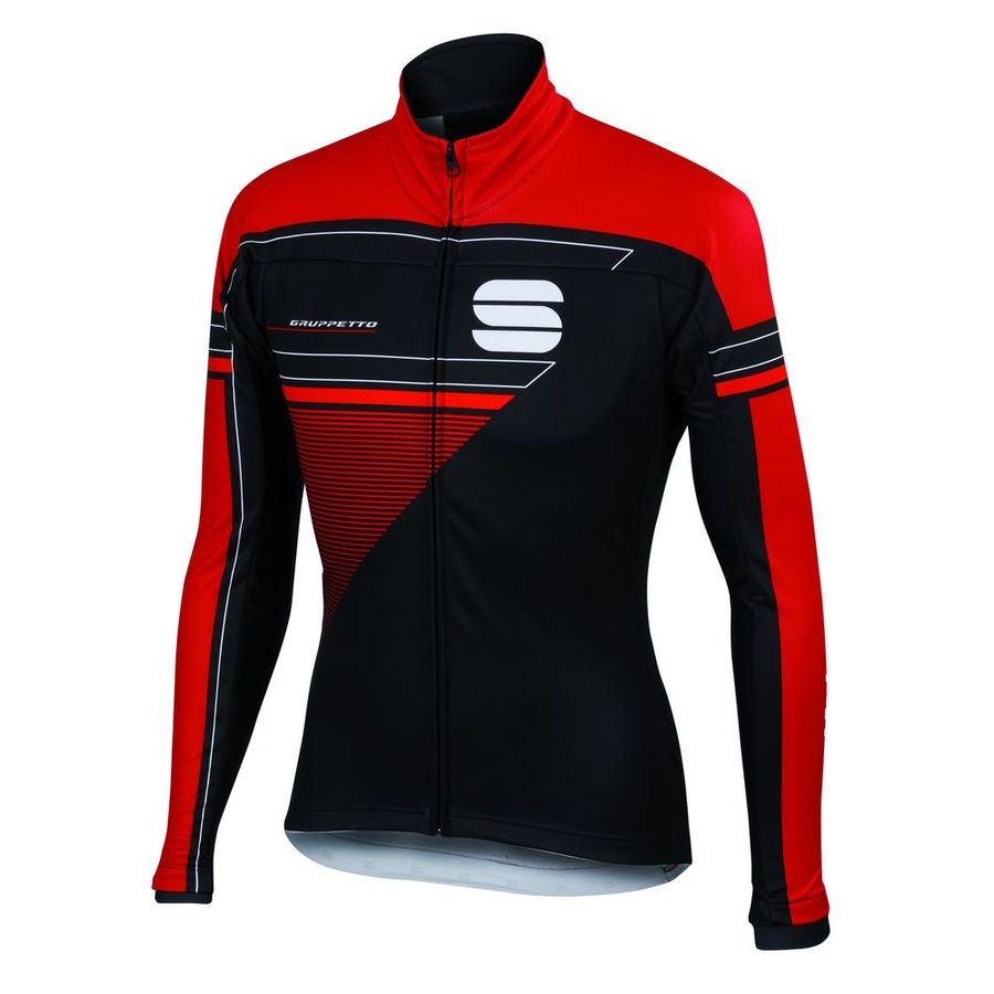 Jacke Sportful Gruppetto Partial WS - Rot