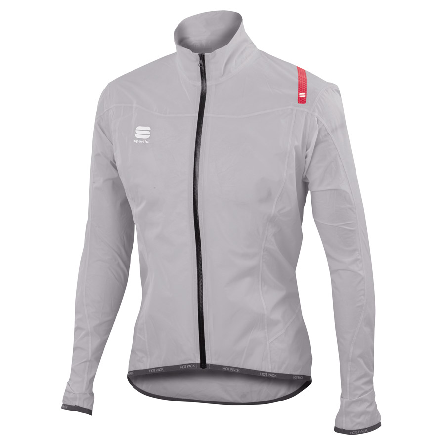 Sportful Hotpack Norain Ultralight Windjacke - Grau