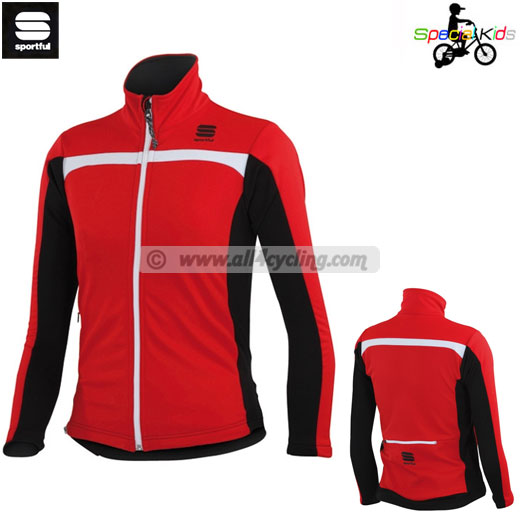 Jacke Kinder Sportful Softshell 14 - Rot