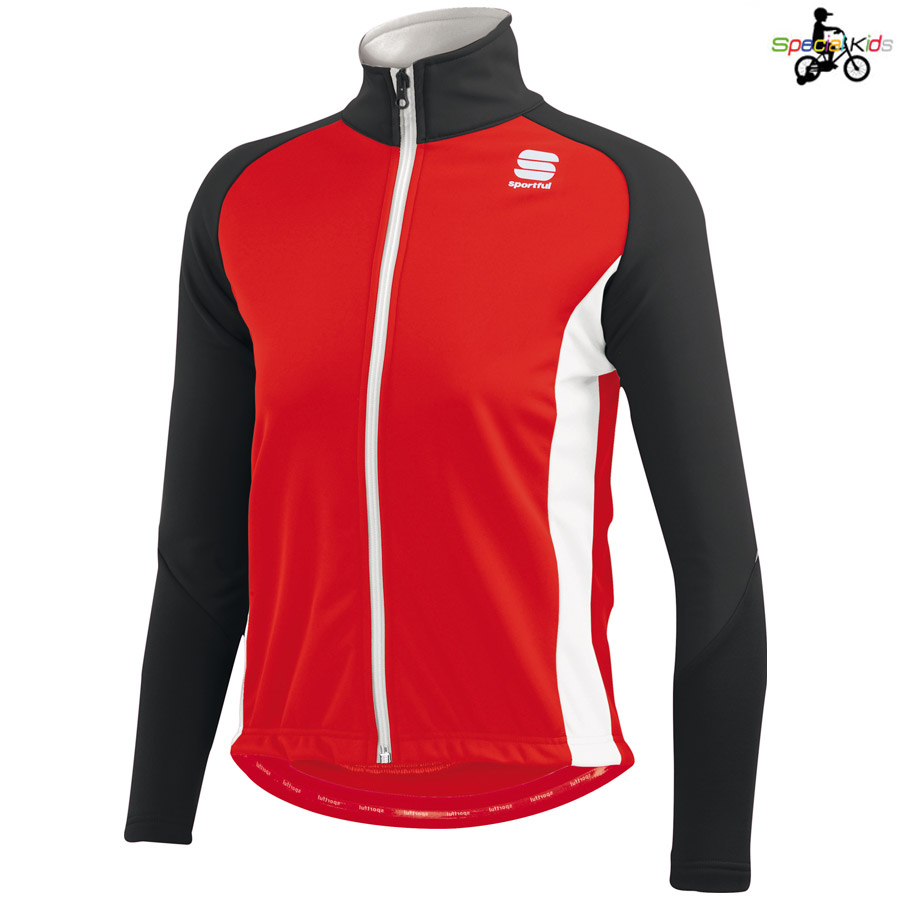Jacke Kinder Sportful Softshell - Rot