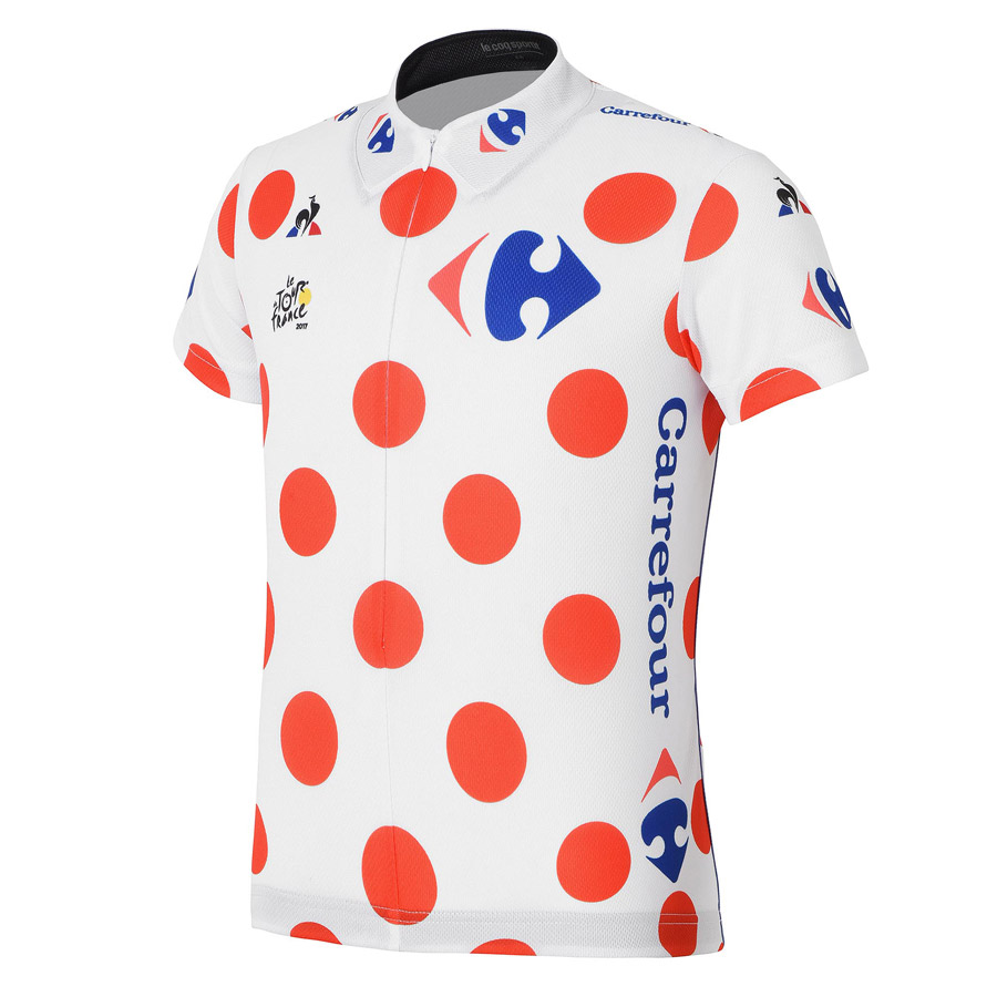 2017 Tour de France Replica Gepunktete Kind Trikot