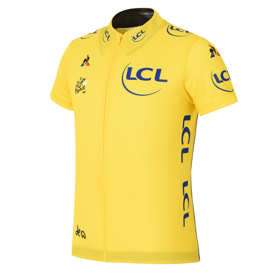 2017 Tour de France Replica Gelbe Kind Trikot