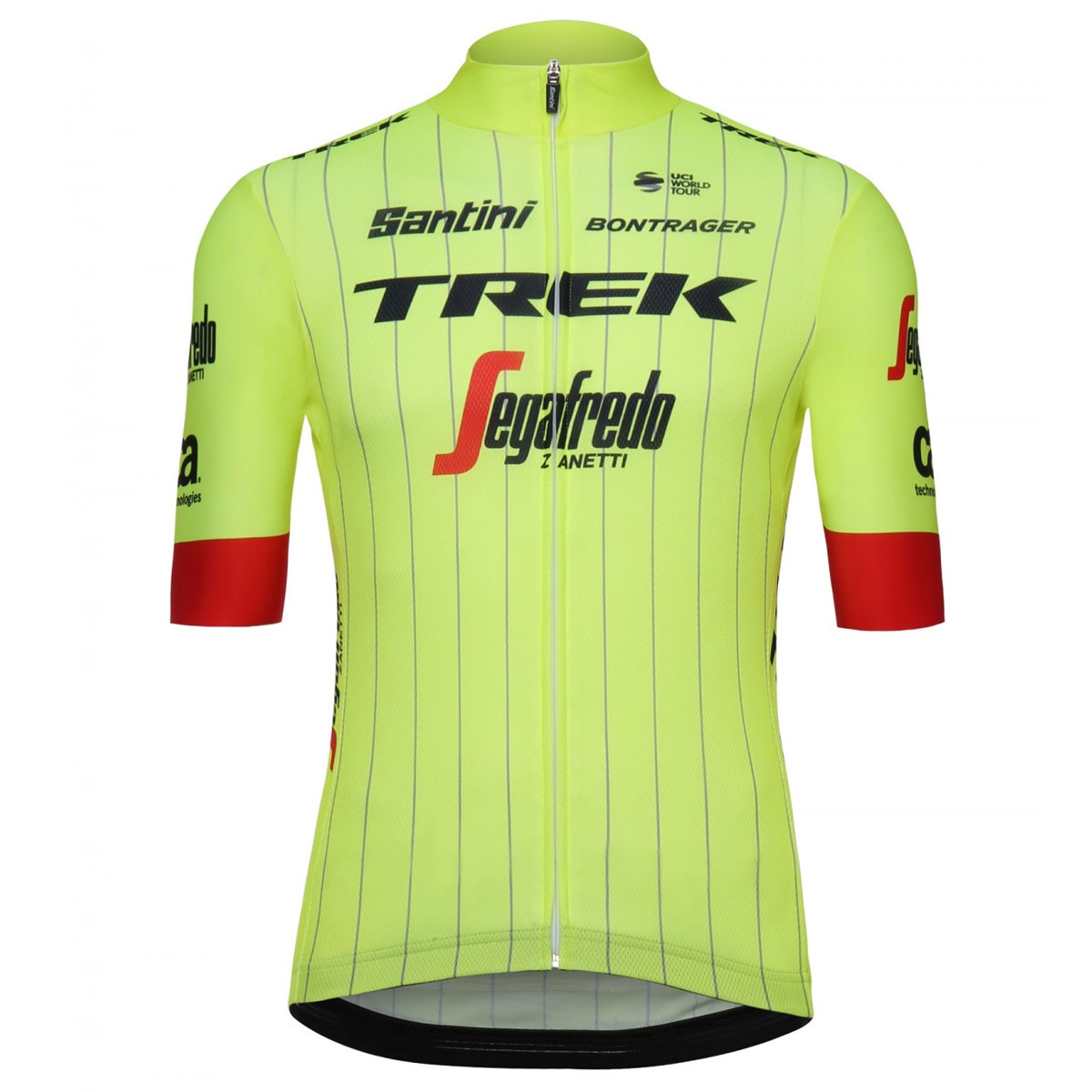 2018 Trek Segafredo training trikot