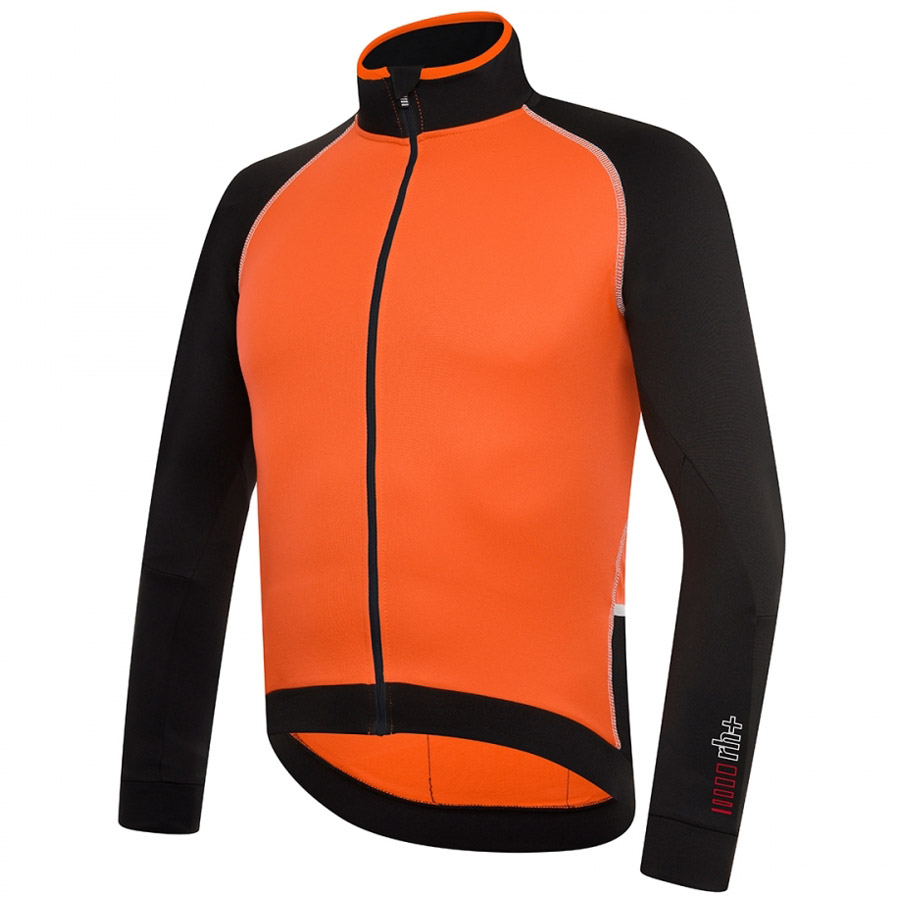 2018 Zero Thermo Rh+ LA Trikot - Schwarz Orange