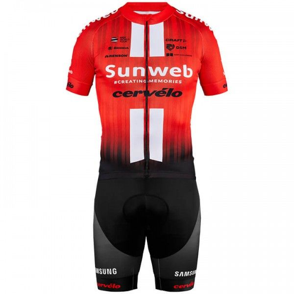 2019 Set TEAM SUNWEB (2 Teile) - Profi-Radsport-Team