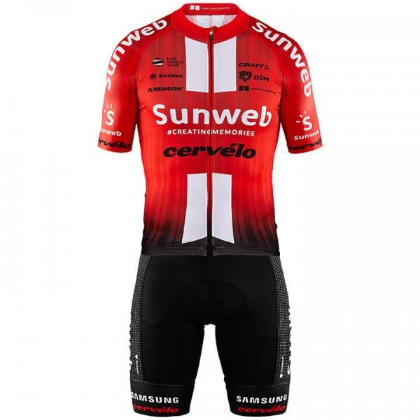 2019 Set TEAM SUNWEB Aerolight (2 Teile) - Profi-Radsport-Team