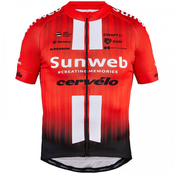2019 TEAM SUNWEB Kurzarmtrikot - Profi-Radsport-Team
