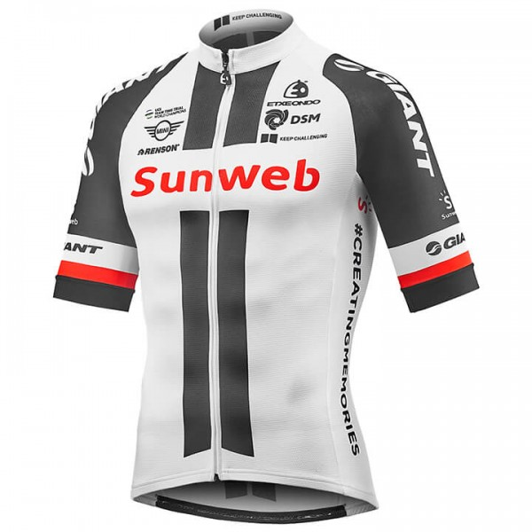 2018 TEAM SUNWEB Kurzarmtrikot Race - Profi-Radsport-Team