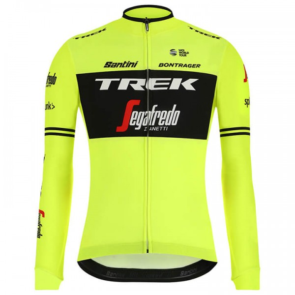 2019 TREK-SEGAFREDO Langarmtrikot Training - Profi-Radsport-Team