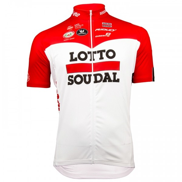 2018 LOTTO SOUDAL Kurzarmtrikot - Profi-Radsport-Team